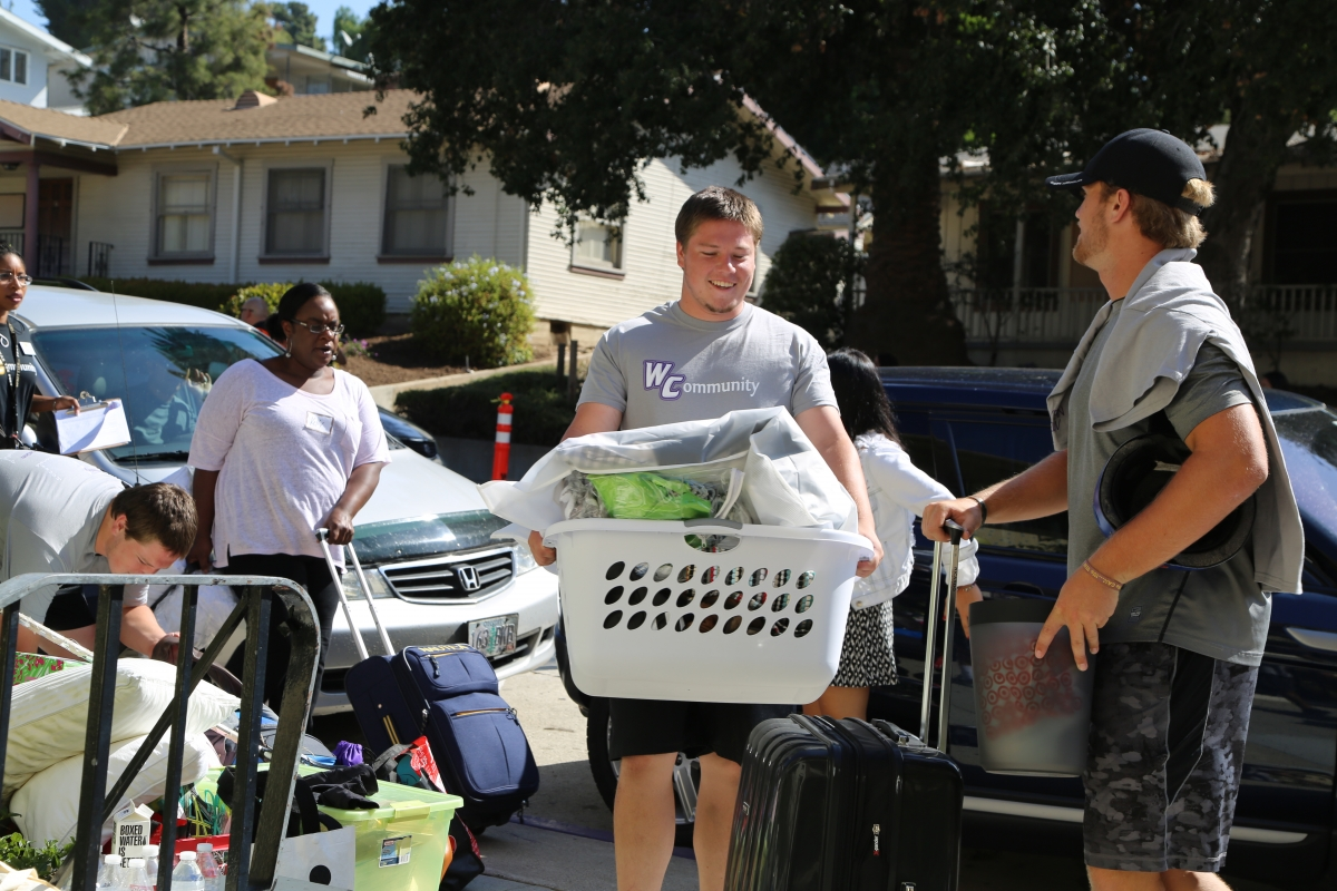 Whittier College, Move In Day, Class of 2015