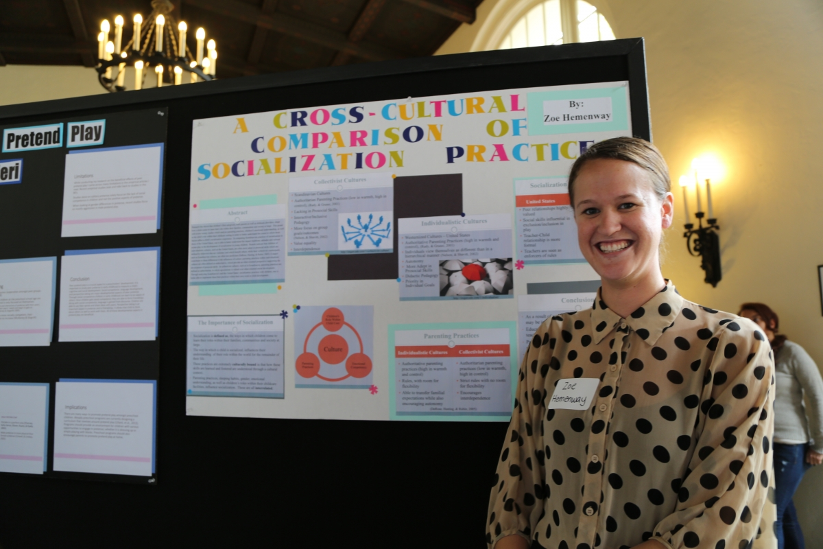 2015 URSCA, Whittier College, Undergraduate Research
