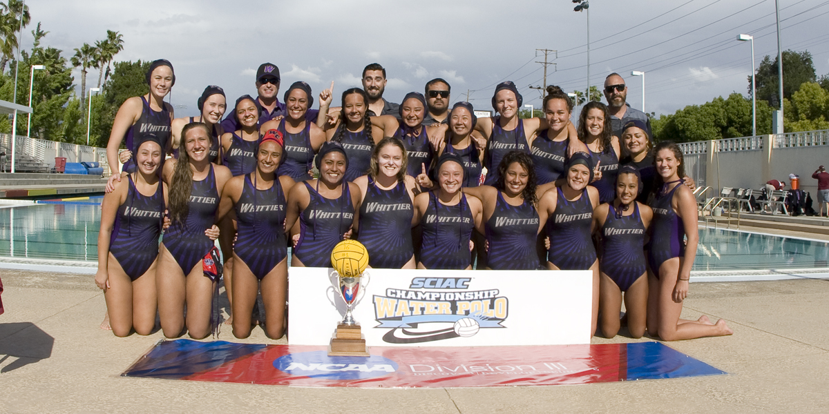 SCIAC Champions, Women Water Polo