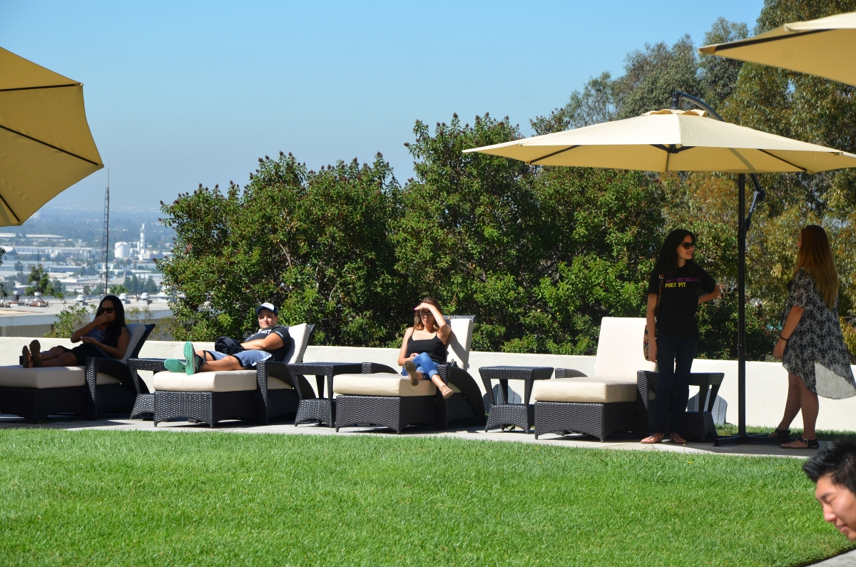 Whittier College, Residence Hall Improvements, Outdoor Living Areas,