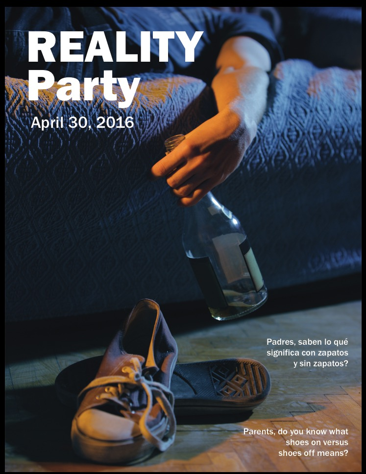 Reality Party Event, Social Work, Teen Drinking