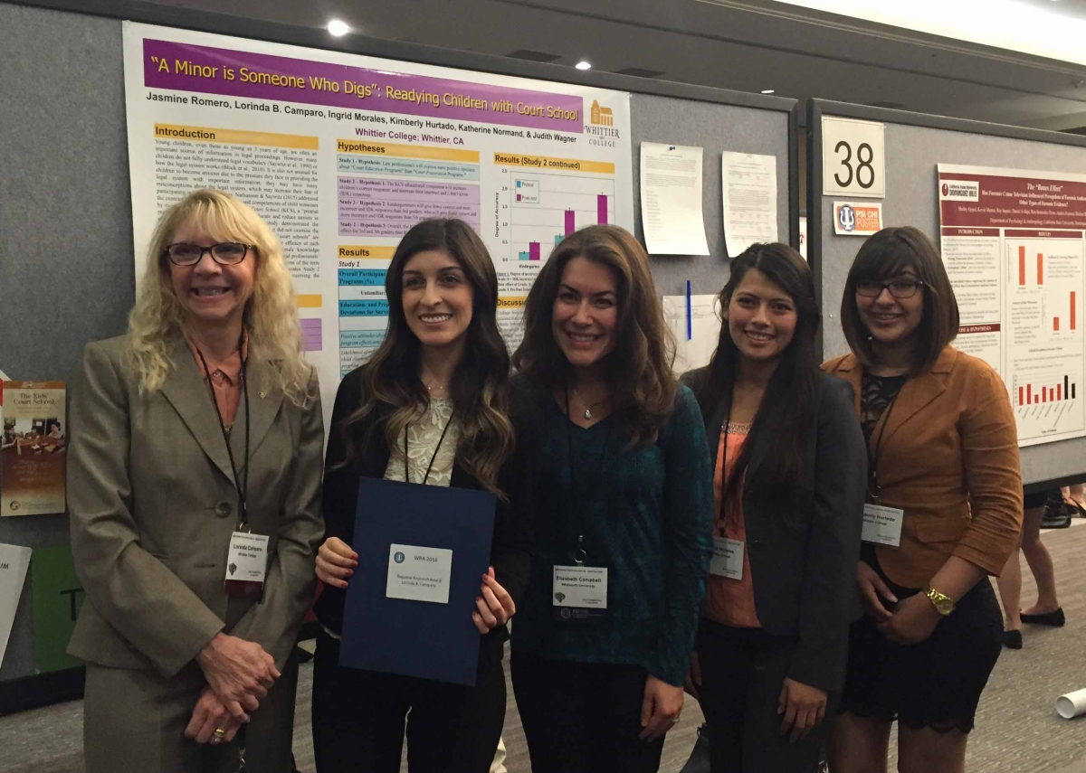 Western Psychological Association Poster Award