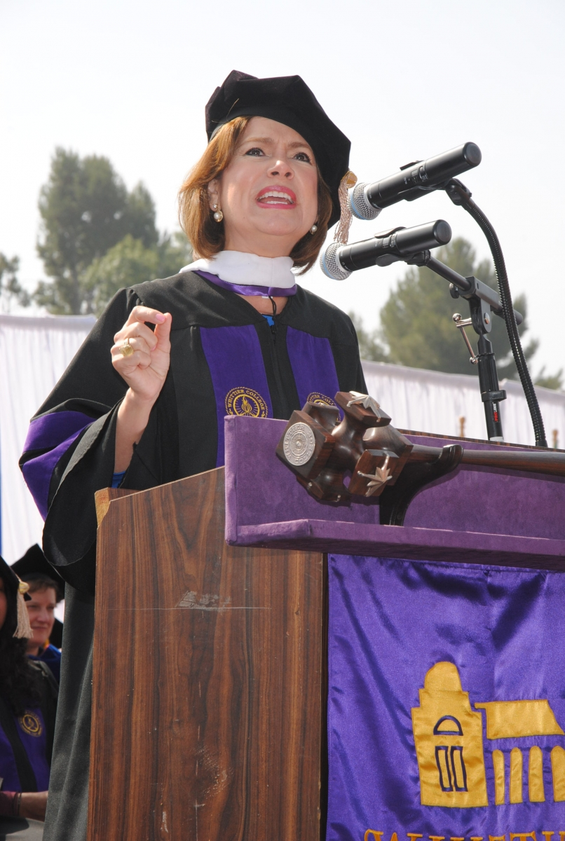 Maria Contreras Sweet, Commencement Speaker, Class of 2016