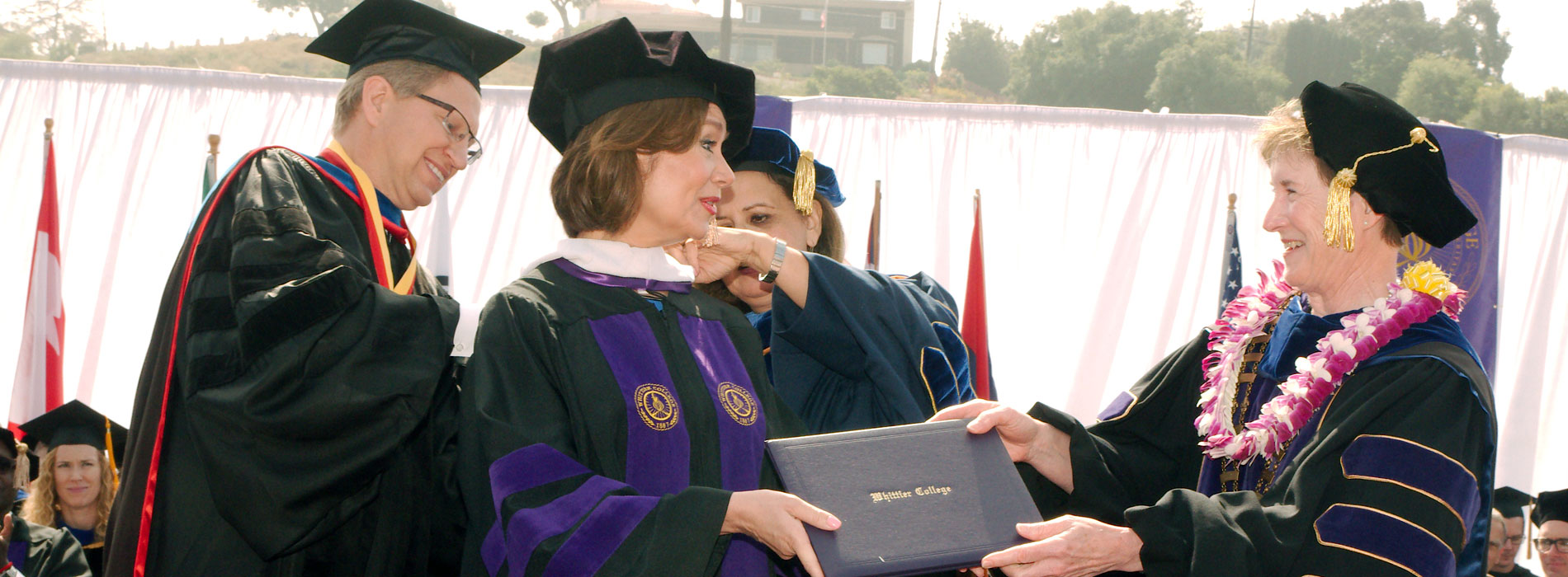 Maria Contreras-Sweet Receives Honorary Degree from Whittier College