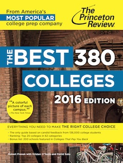 Princeton Review, Best Colleges