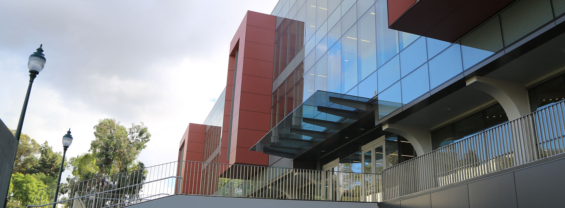 Science and Learning Center north exterior