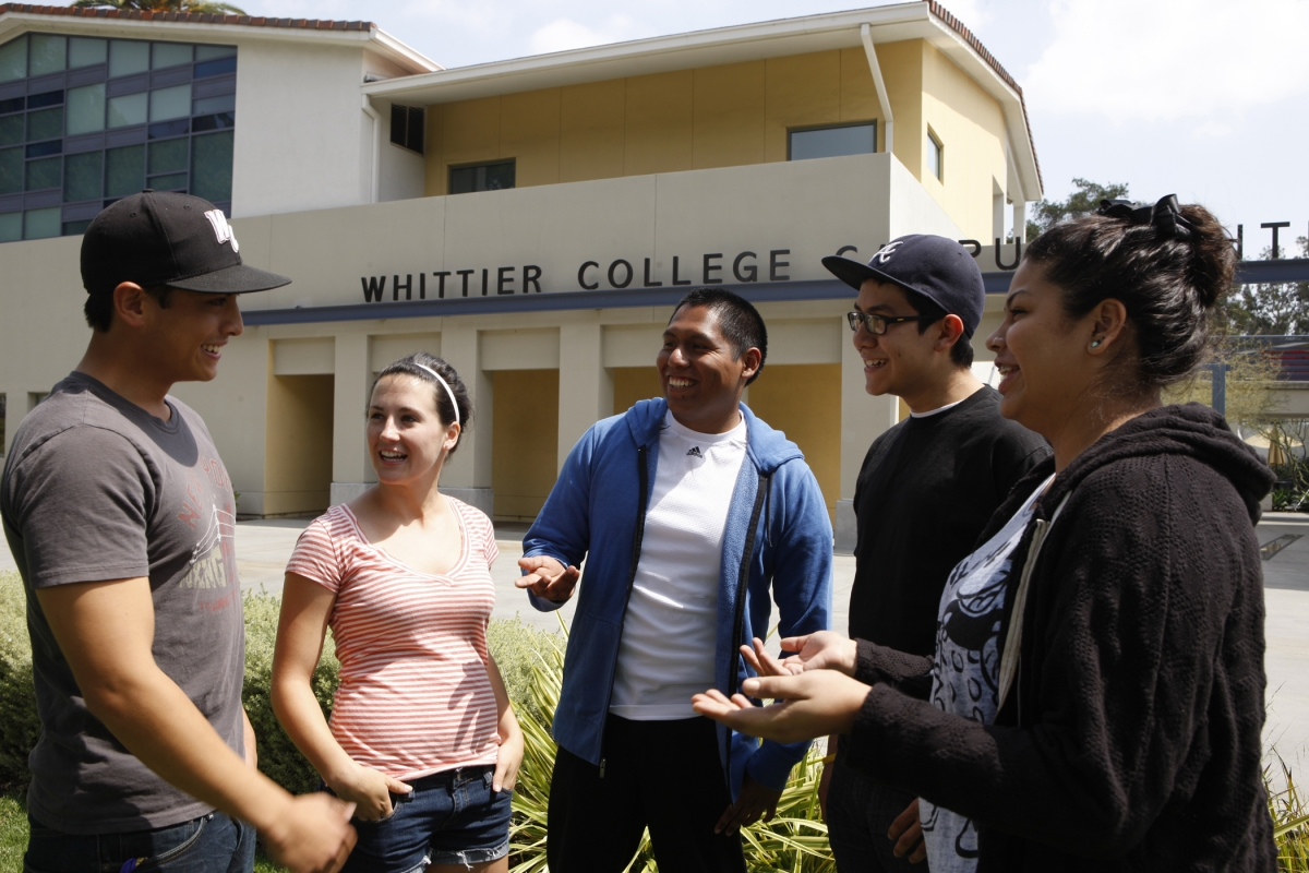 Whittier College Students, Title V Grant