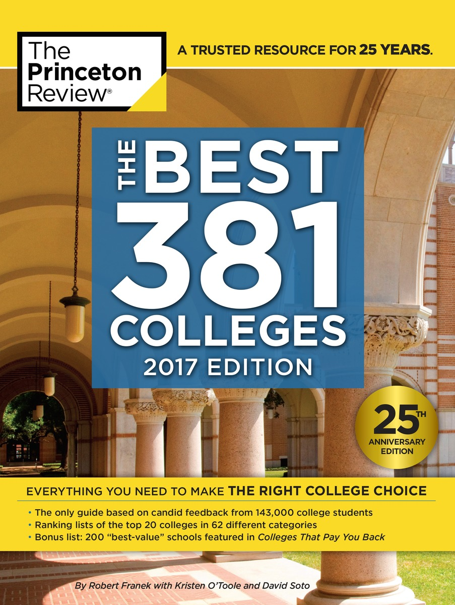 Best Colleges, Princeton Review