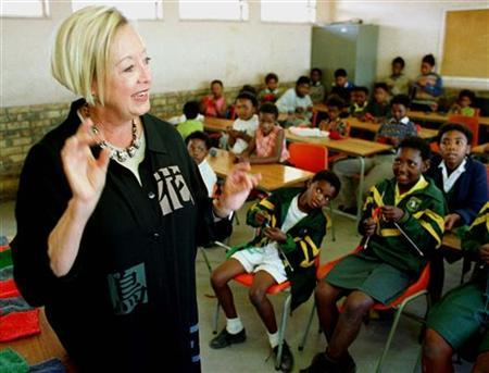 Linda Beihl '65, Founder of the Amy Beihl Trust in South Africa