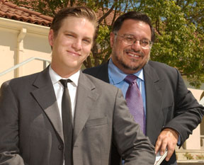 Whittier professor and son, professor Chabran and transfer admission counselor Gabriel Chabran are featured in an article All in the family in the latest issue of Diverse:Issues in higher education.