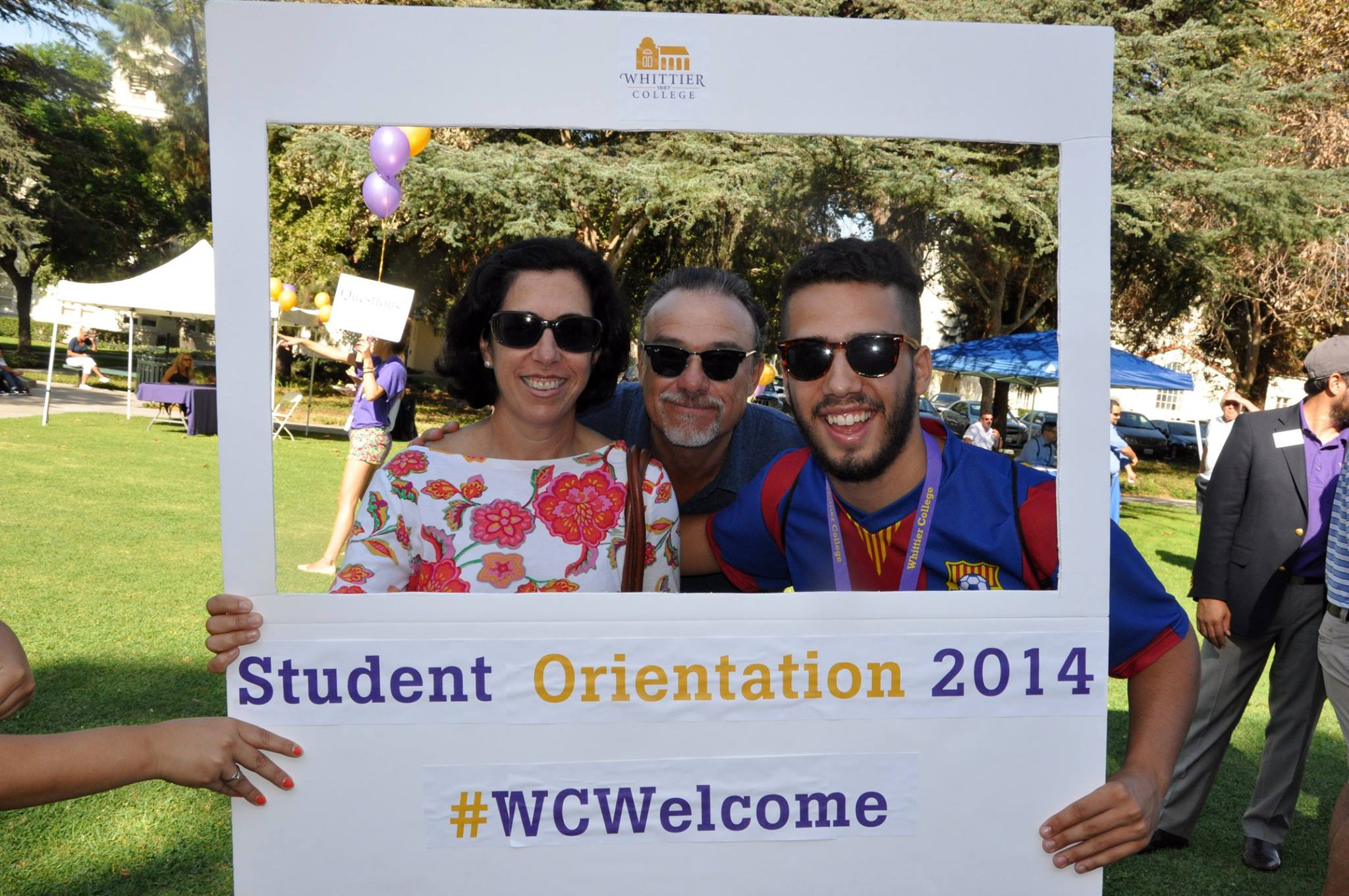New student orientation