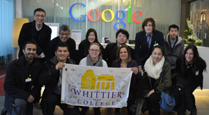 Professor Lana Nino and Study Abroad students visit Google China
