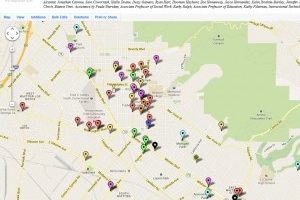 Map Of Whittier College Area Free Download Oasis Dl Co