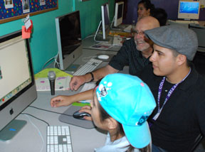 Whittier students take youngsters to the fifth dimension