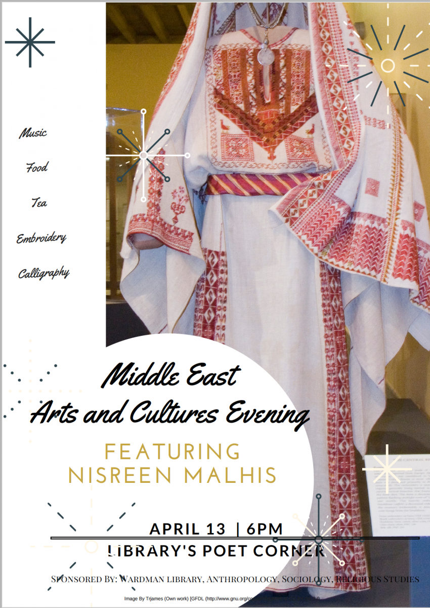 Middle East Arts and Culture Evening