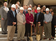 Whittier Breaks Ground on multi-million dollar renovation of the Graham Athletic Center