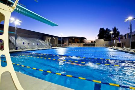 Slade Pool and Graham Athletic Center, Whittier College