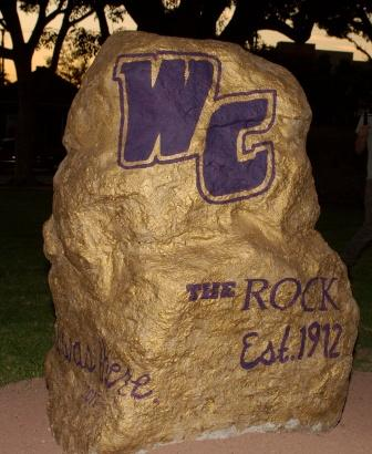 The Rock at Whittier College