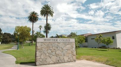 Whittier College campus